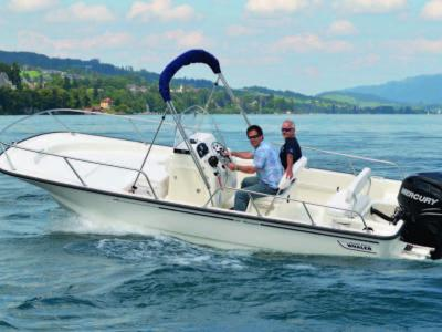 Boston Whaler 190 Montauk Rapport de test